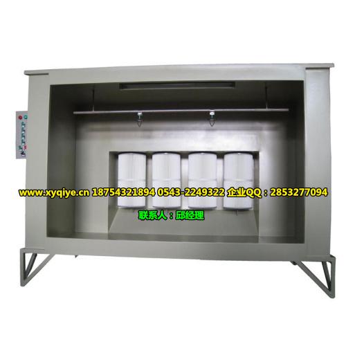 静电喷粉房,喷粉柜,喷粉回收系统,单工位喷粉房(组图)