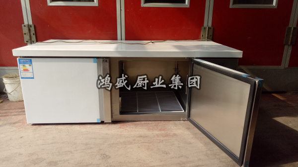 厨房冷冻工作台 不锈钢工作台 商用厨房保鲜操作台