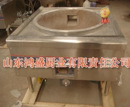 单眼大锅灶商用酒店食堂专用灶液化气天然气大锅灶燃煤灶