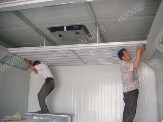 电加热式高温烤漆房制造 高温烘干房设计 高温烤漆房 高温喷塑房